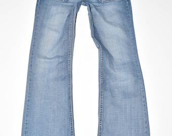 "Blue Denim ESPRIT Bootcut Stretch Stonewashed Women's Jeans Size W32"" L31"""