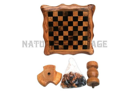 Saint patrick gift easter gift parents present olive wood saint patrick gift easter gift parents present olive wood chess set board with stand unusual gift parents mom dad gifts birthday gift negle Image collections