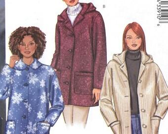 Butterick 3260 Petite  Loose Fitting Jacket Sewing Pattern Size 8 10 12  Uncut