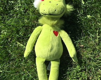 1997 Dr Suess The Grinch That Stole Christmas Plush