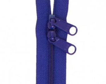 """40"""" Double Slide Handbag Zipper by Annie - Color COBALT"""