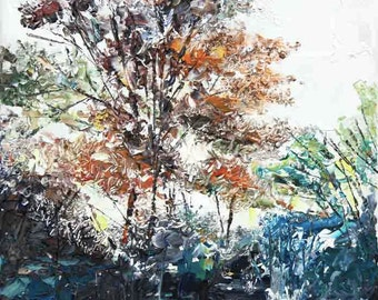 New England Landscape No.57, limited edition of 50 fine art giclee prints on canvas