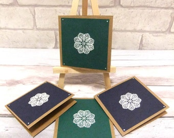 note cards set, blank note cards, mini cards, any occasion cards, blank cards, blue and green