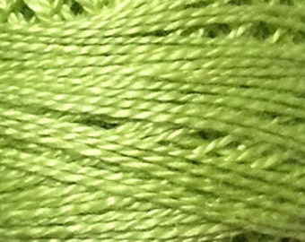 Valdani Solid Perle Cotton Embroidery Thread - Size 8, 73 yd, Single ball SPRING 18