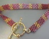 Pink & Gold Bracelet...