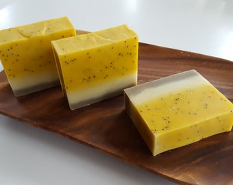 Yellow Watermelon / Handmade Cold Process Soap