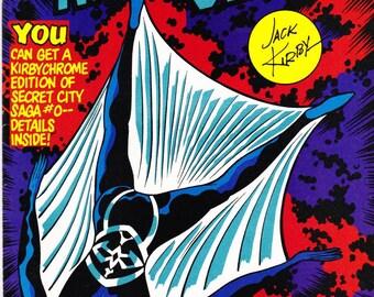 Vintage Comic Book, Night Glider, Vol 1 No 1, April 1993, Topps Comics