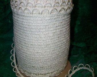 Ivory Button Loops for more than just bridal gowns 5 yd. piece