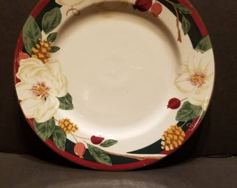 Tienshan Magnolia 10.5 Inch Fine China Dinner Plate