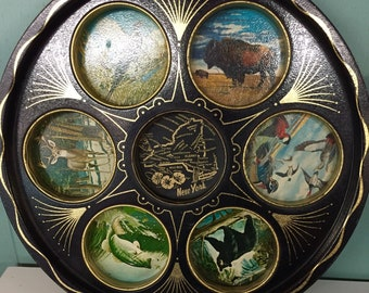 Souvenir Tray from New York