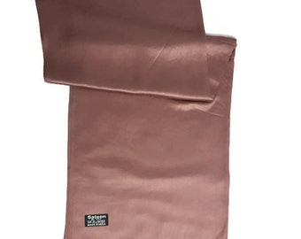 Ladies Luxury Silky Feel Pashmina Scarf/Shawl/Wrap For Day To Evening Occasions (Brown)