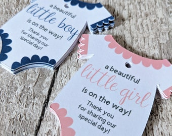 Baby Shower Tags, New Baby Tags, Personalised Tags, Baby Shower, Boy, Girl, Party, Baby Vest