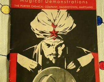 1952 Chemcraft Chemical Magic Book