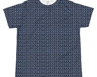 Cotte de maille bleu médiéval fantastique jeunesse T-Shirt