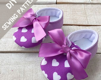 DIY baby girl shoes, Baby Girl Outfit, PDF pattern, Baby Girl Clothes, Baby Shower Gifts, Baby Clothes, New Baby Gift, New Baby, Baby Shower
