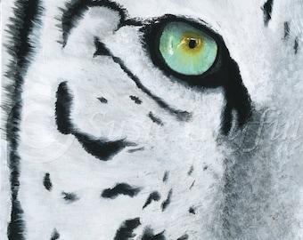 Tiger Eye - Original Artwork Fine Art Print