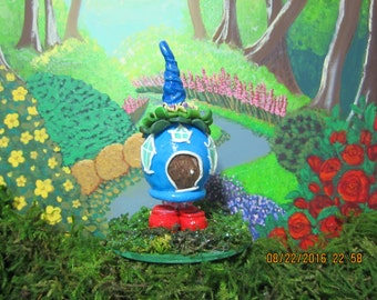 Blue Poddit Fairy House