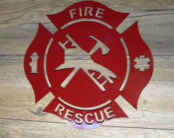 Fire Rescue Art