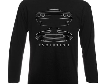 Evolution 1970 Dodge Challenger RT Longsleeve Shirt T-Shirt