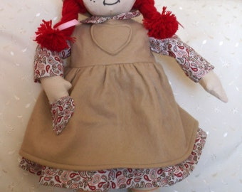 Rag Doll hand made