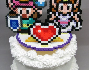 """Legend of Zelda - Link to the Past Cake Topper with 5.25"""" Round Base"""