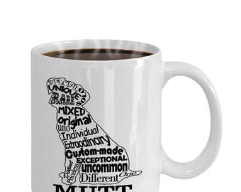 Mutt Word Art Dog Gift Mug