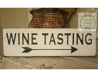 Wine Tasting Arrow Wall Decor Gifts Decorations Lover Gift