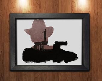 The Walking Dead Maxi Poster - Minimalist