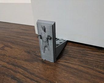 Hold The Door| Han Solo Carbonite Door Stop|Frozen in Carbonite|Solo|Chewbacca|Geek Door Stop|Star Wars Gift|Gift for Him|Nerd Gift