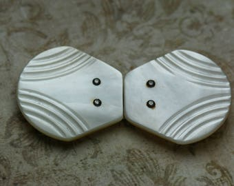 Vintage MOP Shell Buckle