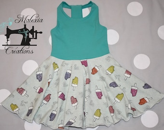 Dress that turns the popsicles