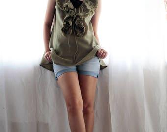 30 USD Sale Summer Blouse 4 sizes S,M,L,XL