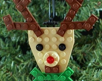Christmas Tree Ornament Build-it KIT Flat Reindeer