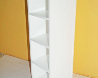 1:12th Scale Modern Shelves in Perspex