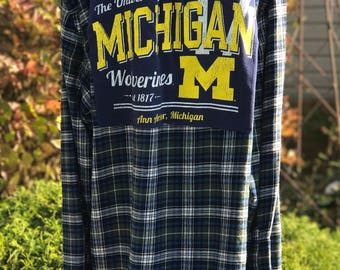 U of M Flannel SZ XXL