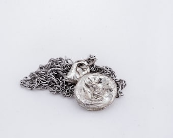 Recycled Silver Charm Amulet