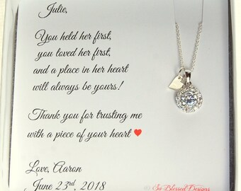 Mother of the Bride Gift from Groom, Mother of the Groom Gift from Bride, Mother in Law Wedding Gift, Future Mother in Law Gift