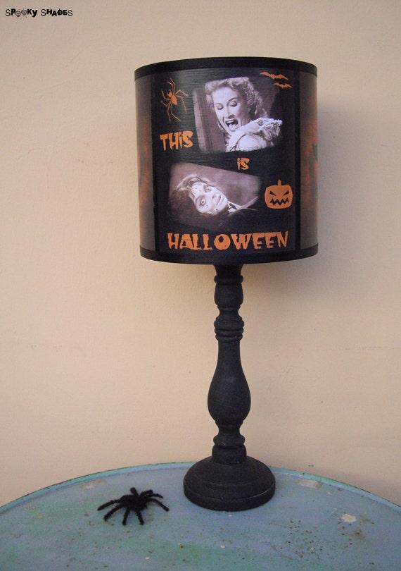 Evil pumpkin lamp shade halloween decor jack o lantern evil pumpkin lamp shade halloween decor jack o lantern halloween decorations dark decor horror movie classic horror geekery aloadofball Images