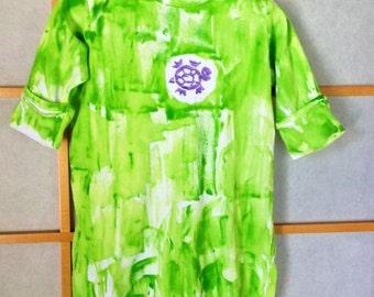 Baby shower gift - Hawaii baby gift - baby sleep sack - cotton sleep sack - baby bunting - kauai hawaii baby - Kauai baby gift