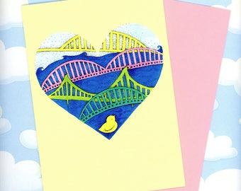 Pittsburgh Ducky Greeting Card