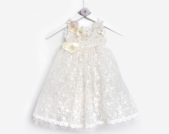 Flower girl dress, Couture dress, birthday dress