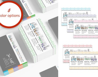 Rodan and Fields Business Cards Download - Hexagon Business Cards Personal Printable Custom Personalized