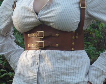 Steampunk Harness, made to your specifications!