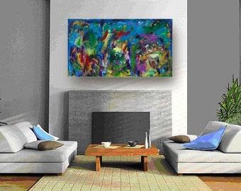 Groot Schilderij Woonkamer : Groot schilderij woonkamer. beautiful living and dining rooms