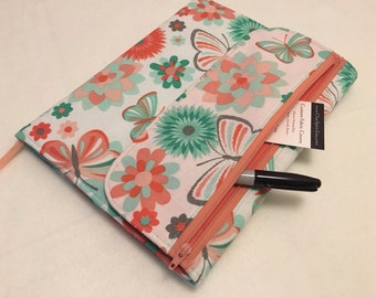 Composition Notebook Cover, Butterfly Garden