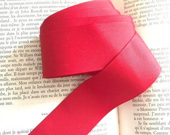 Wide Red Ribbon