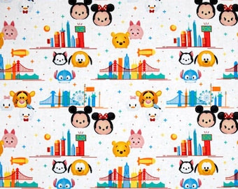 Tsum Tsum / custom fabric