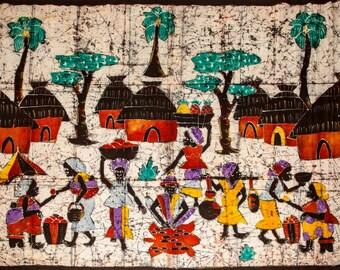 Colorful Batik Village