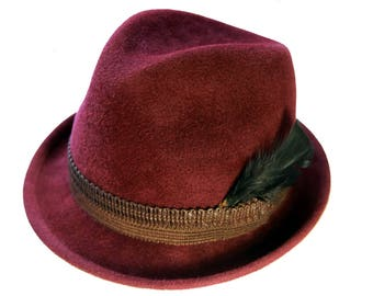 Women's trilby Hat