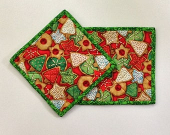 043 Christmas Cookies Pot Holder